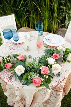 Ustedessaben quesiempre estoy pensando en nuevasideaspara hacer un boda temática, aquí les traigo una boda muy floreada!