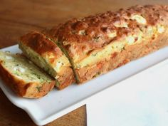 Fresh herb and feta bread Greek Cooking, Easy Cooking, Greek Recipes, Baby Food Recipes, Cookbook Recipes, Cooking Recipes, Healthy Snaks, Cooking Cake, Party Finger Foods
