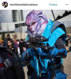 Jaal Cosplay << HOLY FUCK THIS IS DEAD ON.