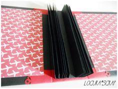 Locura'scrap : Paso a paso del álbum scrap con lomo