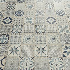 Starfloor Tile Retro Indigo Luxury Vinyl Tile