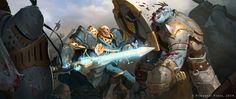 NQ #59 - Battle Scene by Skiorh.deviantart.com on @DeviantArt