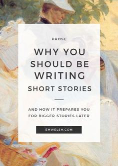 Are you someone who only writes long fiction? See why a change to writing short stories can help your prose!