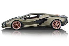 Collectable 1:18 diecast model of Lamborghini Sian FKP37 in matte metallic green paint by Bburago.  #Lamborghini #ModelCars #SuperSportsCar #LamborghiniClub #diecast #diecastphotography #diecastcollector #diecastcollection #diecastcars #118Scale #118Diecast #Bburago #SianFKP37