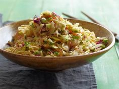Asian Style Slaw Recipe | Dave Lieberman | Food Network