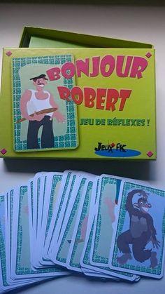 Bonjour Robert : Jeu de société dès 6 ans #123jouez - Maman Pouponne-Papa Bricole