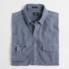 J.Crew+Factory++Slim+brushed+twill+shirt