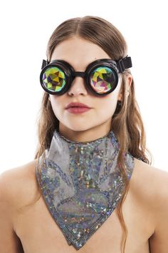 Costume Props Holographic Rhinestone Burning Man Skull Mask Drag Queen Costumes Summer Festival Rave Clothes Outfits Gear Celebrity Stage Gear Vivid And Great In Style Costumes & Accessories
