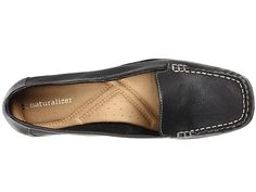 Naturalizer Century Black Leather Loafer