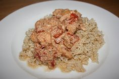 """Crock Pot Indian Chicken  Requires garam masala, but she also provides a """"make your own"""" substitute from other spices."""
