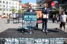 Izložba fotografija 'Moje tijelo: Ratna zona' otvorena jučer ispred BBI Centra