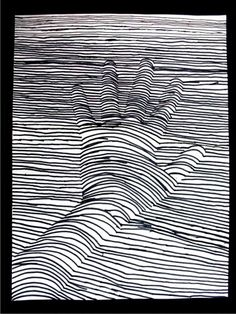 Lines Paper Ink On Paper Eric Blum  Drawings & Lines  Pinterest  Art Museum .