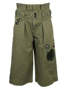MARC JACOBS Marc Jacobs Embroidered Long Cargo Shorts. #marcjacobs #cloth #https: