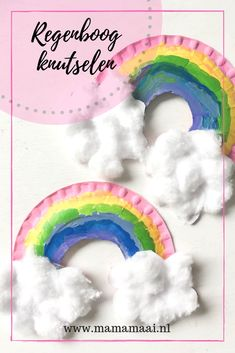 Siem wanted to craft a rainbow for his sister – Mama Maai – kids – knutselen Hobbies And Crafts, Crafts To Make, Fun Crafts, Arts And Crafts, Diy Bookshelf Wall, Diy For Kids, Crafts For Kids, Kids Talent, Butterfly Baby