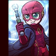 """""""Barry Potter"""" Lord Mesa. I found it to be really cool they had switched the weather wand from being the Weather Wizard's own tool to the thing that takes away his powers."""