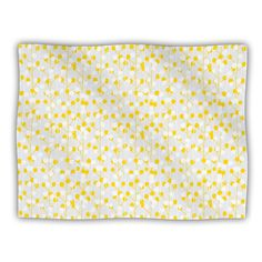 Kess InHouse Julie Hamilton 'Lemon Drop' Yellow Gray Dog Blanket, 40 by 30-Inch *** See this awesome image  (This is an amazon affiliate link. I may earn commission from it)