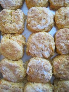 Flaky, tender and buttery, biscuits with a bit of country ham make a filling breakfast and atasty appetizer. For those of you who aren't familiar with the Southern delicacy known as country ham, p...
