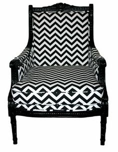 Chevron Harrison Side Chair