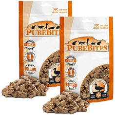 PureBites Duck for Cats 1.05oz / 30g  Value Size 2 Pack *** Check this awesome product by going to the link at the image.-It is an affiliate link to Amazon. #CatTreats