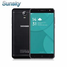 Original Doogee X7 Pro 6.0 inch Android 6.0 Smartphone 2GB 16GB MTK6737 Quad Core OTG 4G FDD-LTE 1.3GHz 13.0MP Mobile Phone