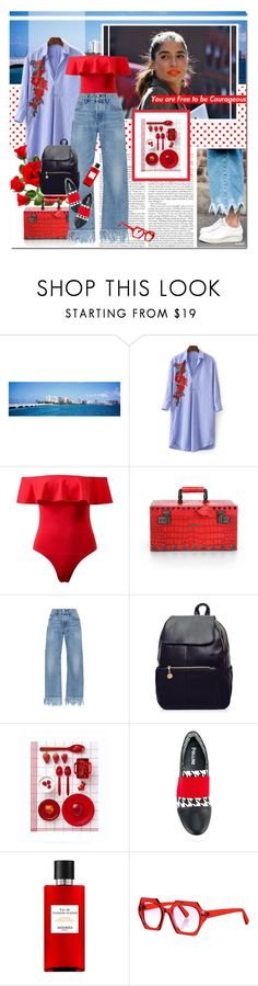 """""""The Importance Of Being Creative"""" by undici ❤ liked on Polyvore featuring Eddie Borgo, 3x1, Pollini, OBLIQUE, Hermès and Kirk & Kirk"""