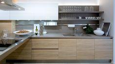 Výsledek obrázku pro kuchyně dub moderní