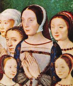 Queen Claude of France with her children.