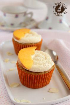 Cupcakes de Melocotón y Bourbon