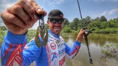 How to Find and Catch Bass in Flooded Bushes - YouTube