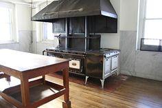 James J. Hill House kitchen