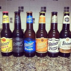 Shiner... yes, please!