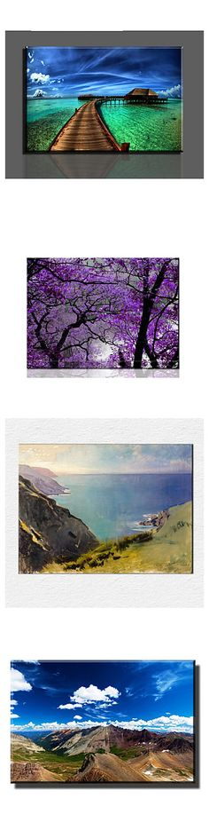 No need to go outside, you can just enjoy the beautiful scenery in your home. Check out these amazing wall prints and find your love!