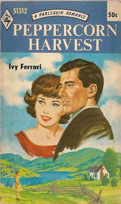 VINTAGE BOOK Peppercorn Harvest A Harlequin Romance 51312