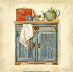 Моменты нашей жизни...: Кулинарные рисунки (посуда разная)