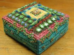 Sue Hawkins Needlework kit - Vegetable Garden Once I've finished all my current projects I'm going to get this!
