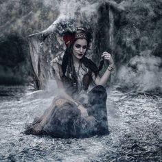 Kirsty Mitchell, Dark Beauty Magazine, Modern Witch, Fantastic Art, Archetypes, Portrait Photo, The Conjuring, Dark Fantasy, Fine Art Photography