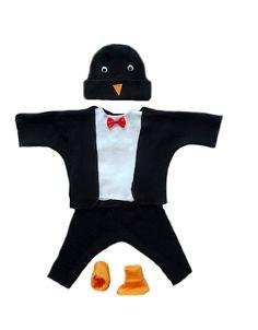 Newborn Baby Halloween Costume - Penguin