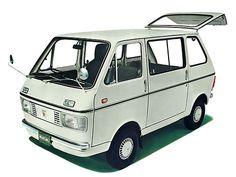 Suzuki Carry Van by Человек! Suzuki Carry, Classic Japanese Cars, Classic Cars, Toyota Celica, Retro Cars, Vintage Cars, Automobile, Microcar, Miniature Cars