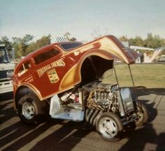 Vintage Drag Racing - Jim Shores - Connecticut Dragway 1969 *