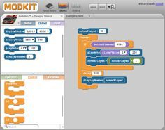 graphical programming environment for Arduino... have not tried it but it looks interesting!