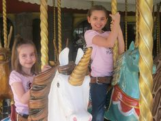 Merry memories on the carousel!  #GTKW