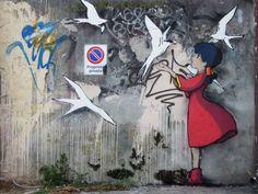 El arte urbano de Kenny Random