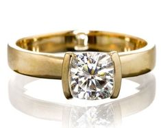 Solitaire Diamond Gold Jewelry Certified by CertifiedJewelryshop Diamond Jewelry, Gold Jewelry, Unique Jewelry, Solitaire Diamond, Gold Rings, Rose Gold, Jewels, Engagement Rings, Crystals