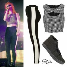 be4a6b757848 Hayley Williams Style, Paramore Hayley Williams, Topshop Outfit, Casual  Outfits, Cute Outfits