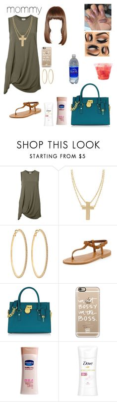 """""""going to work"""" by shantibabi ❤ liked on Polyvore featuring Witchery, ASOS, Roberta Chiarella, K. Jacques, Michael Kors, Casetify, CO, Dove, women's clothing and women"""