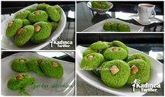 Ispanaklı Kurabiye Tarifi, Nasıl Yapılır – Kurabiye – Las recetas más prácticas y fáciles Candy Cookies, Sweet Cookies, How To Make Spinach, Delicious Desserts, Yummy Food, Turkish Sweets, Greek Cooking, Turkish Recipes, Desert Recipes