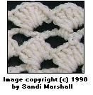 Diagonal Shell Stitch ~ How To Step-By-Step Photo Tutorial