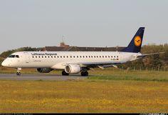 Lufthansa Regional (Lufthansa CityLine) D-AEBJ Embraer ERJ-190-200LR 195LR aircraft picture