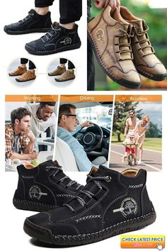 Casual Sneakers Boots Handstiched is a must buy shoe in 2020 haan Buy Shoes, Men's Shoes, Casual Sneakers, Casual Shoes, Loafer Shoes, Loafers, Shoes With Jeans, Driving Shoes, Sneaker Boots