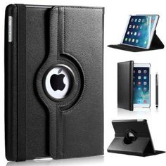 360 DEGREE ROTATING BLACK HIGH QUALITY LEATHER CASE WITH FREE SCREEN PROTECTOR FOR Apple iPad Mini Black case, iPad Mini2 case, iPad mini3 case BY DN-TECHNOLOGY® null http://www.amazon.co.uk/dp/B00MR2QYYU/ref=cm_sw_r_pi_dp_eRHSvb1Z559EE